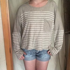 Madewell 100% Cotton Longsleeve Top